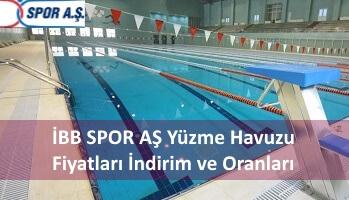 İBB SPOR AŞ Yüzme Havuzu Fiyatları İndirim ve Oranları