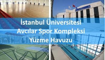 İstanbul Üniversitesi Avcılar Spor Kompleksi Yüzme Havuzu