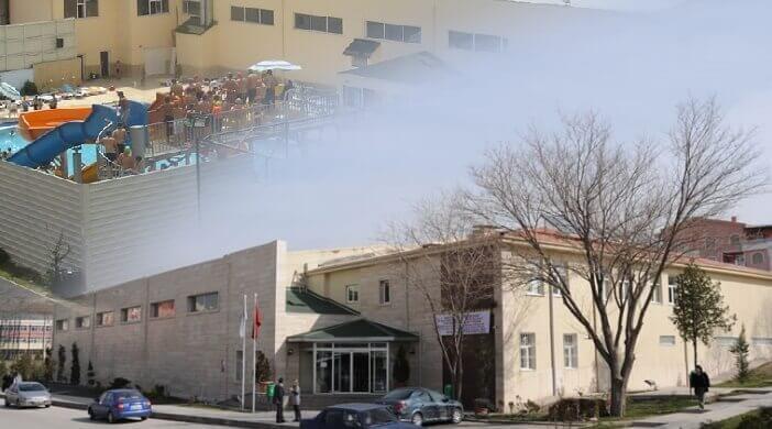 Keçiören Belediyesi Aktepe Yüzme Havuzu ve Aquapark