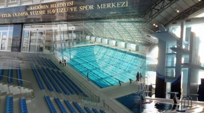 Keçiören Belediyesi Etlik Olimpik Yüzme Havuzu