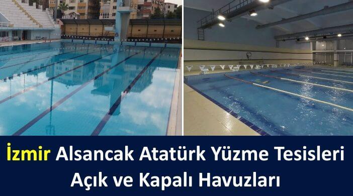 İzmir Alsancak Atatürk Yüzme Tesisleri Açık ve Kapalı Havuzları