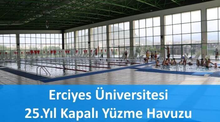 Erciyes Üniversitesi 25.Yıl Kapalı Yüzme Havuzu