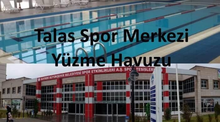 Kayseri Talas Spor Merkezi Yüzme Havuzu