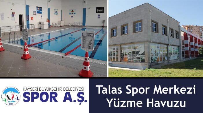Kayseri Spor AŞ Talas Spor Merkezi Yüzme Havuzu