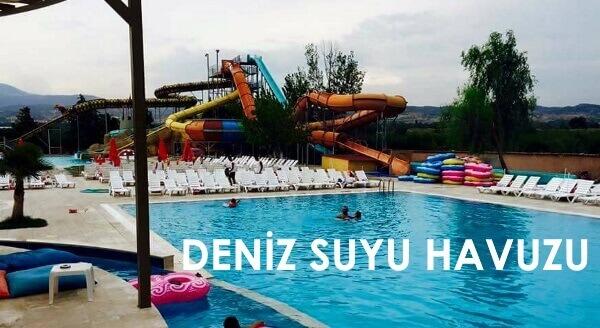Denizli Çavuşoğlu Aquapark Deniz Suyu Yüzme Havuzu