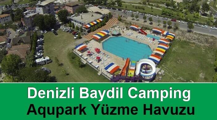 Denizli Baydil Camping Aqupark Yüzme Havuzu
