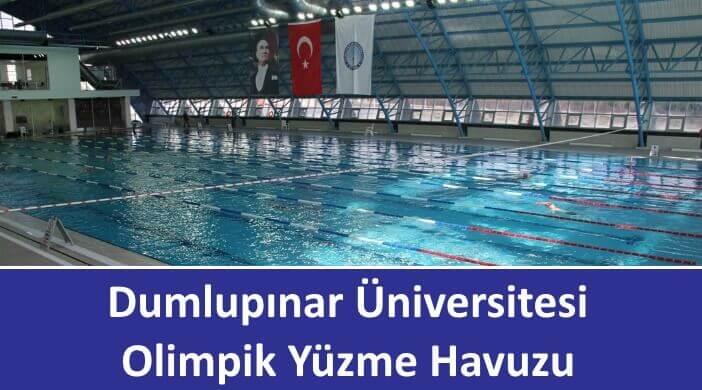Dumlupınar Üniversitesi Olimpik Yüzme Havuzu