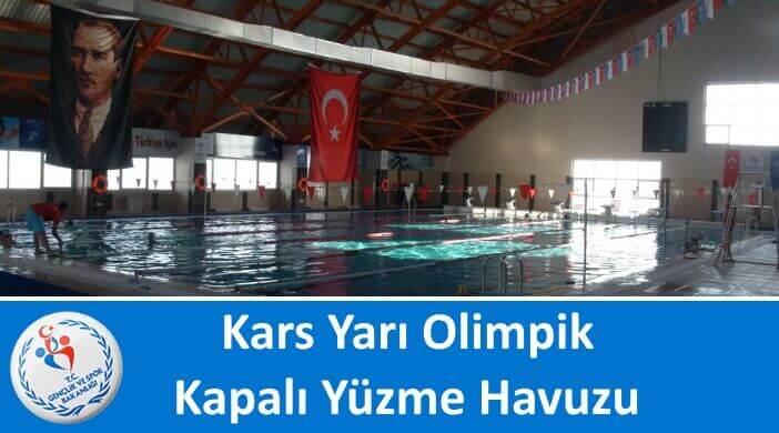 Kars Yarı Olimpik Kapalı Yüzme Havuzu