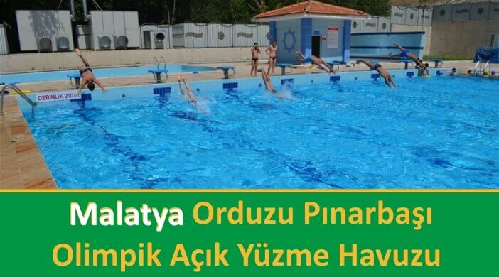 Malatya Orduzu Pınarbaşı Olimpik Açık Yüzme Havuzu