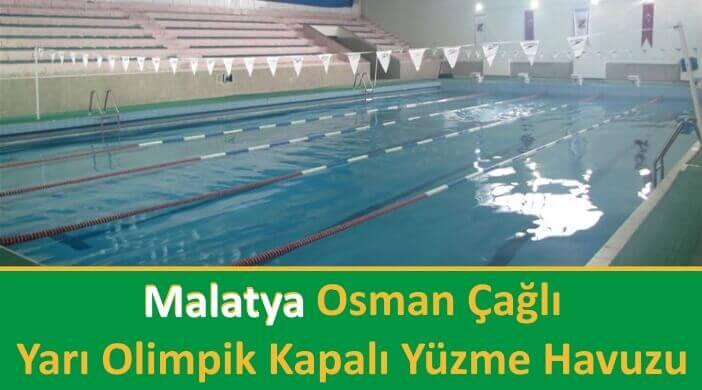 Malatya Osman Çağlı Yarı Olimpik Kapalı Yüzme Havuzu