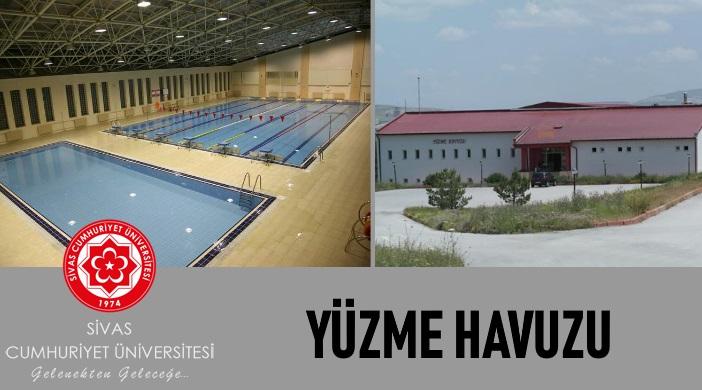 Sivas Cumhuriyet Üniversitesi Yarı Olimpik Kapalı Yüzme Havuzu