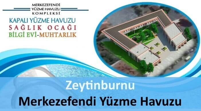 Zeytinburnu Merkezefendi Yarı Olimpik Yüzme Havuzu