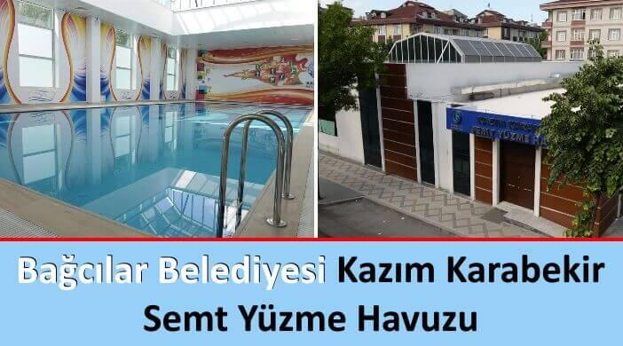 Bağcılar Belediyesi Kazım Karabekir Semt Yüzme Havuzu