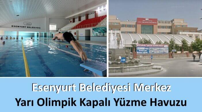 Esenyurt Belediyesi Merkez Yarı Olimpik Kapalı Yüzme Havuzu