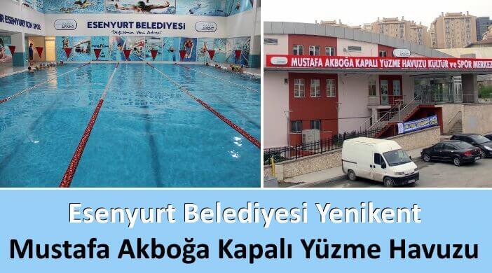 Esenyurt Belediyesi Yenikent Mustafa Akboğa Kapalı Yüzme Havuzu