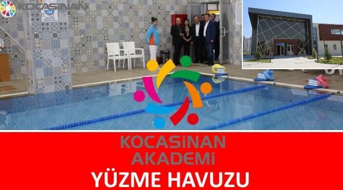 Kayseri Kocasinan Akademi Yüzme Havuzu