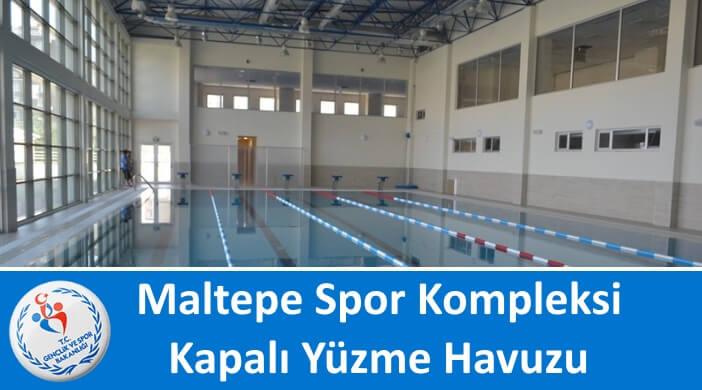 Maltepe Spor Kompleksi Kapalı Yüzme Havuzu