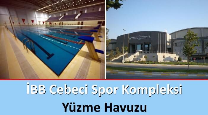 İBB Cebeci Spor Kompleksi Yüzme Havuzu