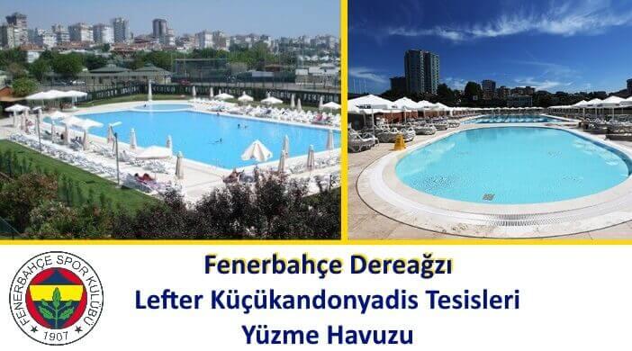 Fenerbahçe Dereağzı Lefter Küçükandonyadis Tesisleri Yüzme Havuzu