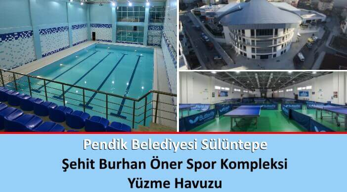 Pendik Belediyesi Sülüntepe Şehit Burhan Öner Spor Kompleksi Yüzme Havuzu