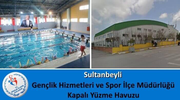 Sultanbeyli Gençlik Hizmetleri ve Spor İlçe Müdürlüğü Kapalı Yüzme Havuzu