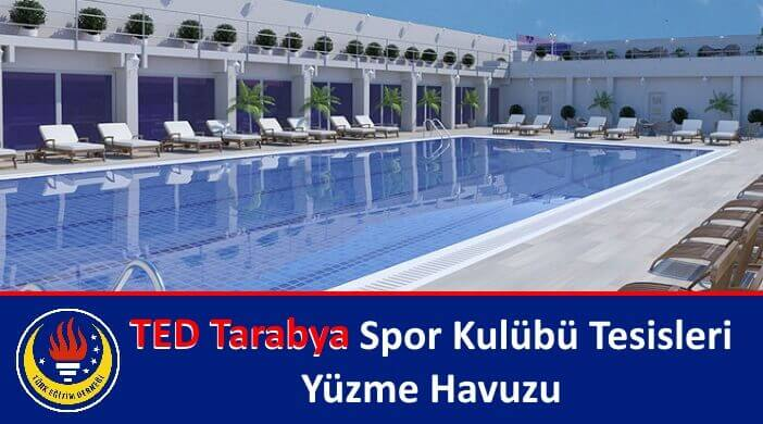 TED Tarabya Spor Kulübü Tesisleri Yüzme Havuzu