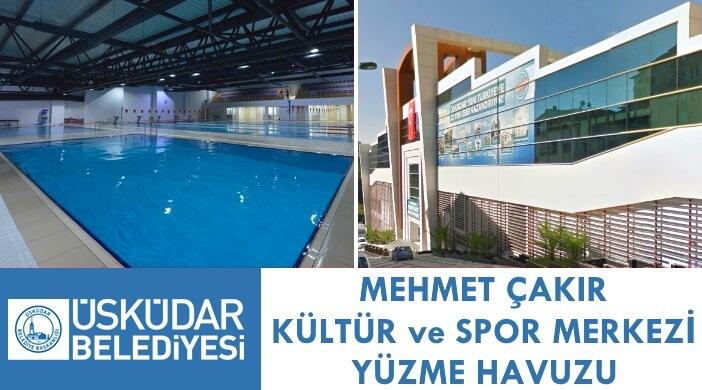 Üsküdar Belediyesi Mehmet Çakır Kültür ve Spor Merkezi Yüzme Havuzu