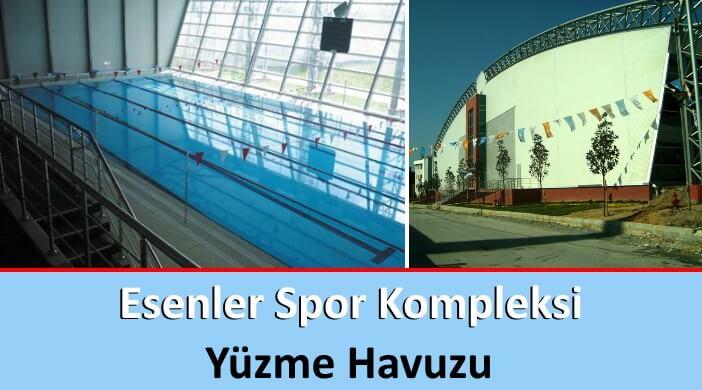 İBB Esenler Spor Kompleksi Yüzme Havuzu