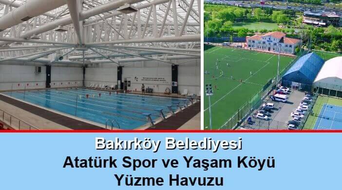 Bakırköy Belediyesi Atatürk Spor ve Yaşam Köyü Kapalı Yüzme Havuzu