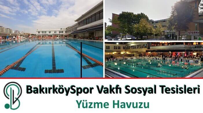 BakırköySpor Vakfı Sosyal Tesisleri Yüzme Havuzu