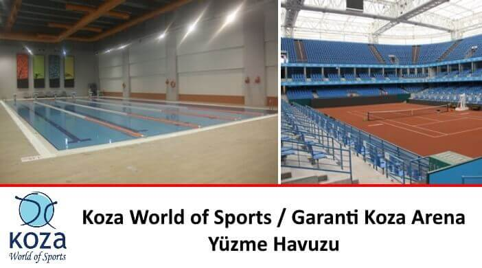 Koza World of Sports - Garanti Koza Arena Yüzme Havuzu
