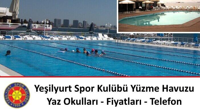Yeşilyurt Spor Kulübü Yüzme Havuzu-Yaz Okulları