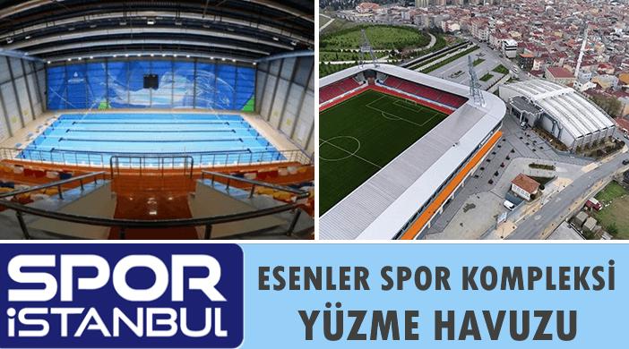 İBB SPOR İSTANBUL Esenler Spor Kompleksi Kapalı Yüzme Havuzu