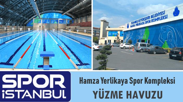 İBB SPOR İSTANBUL Hamza Yerlikaya Spor Kompleksi Yüzme Havuzu