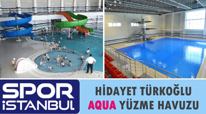 İBB SPOR İSTANBUL Hidayet Türkoğlu Aqua Yüzme Havuzu - Yarı Olimpik Kapalı Yüzme Havuzu - Atlama Kuleli Yüzme Havuzu