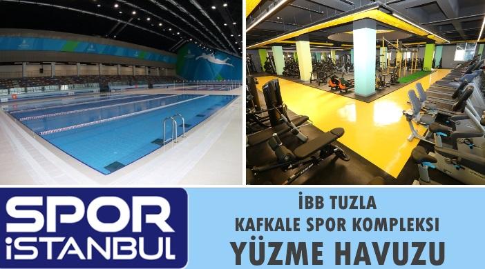 Tuzla Kafkale Spor Kompleksi Yüzme Havuzu: Fiyatları Kayıt ve İletişim