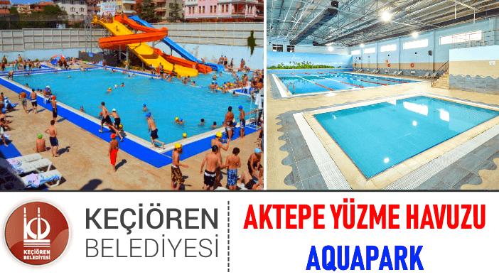 Ankara Keçiören Belediyesi Aktepe Aquapark ve Kapalı Yüzme Havuzu
