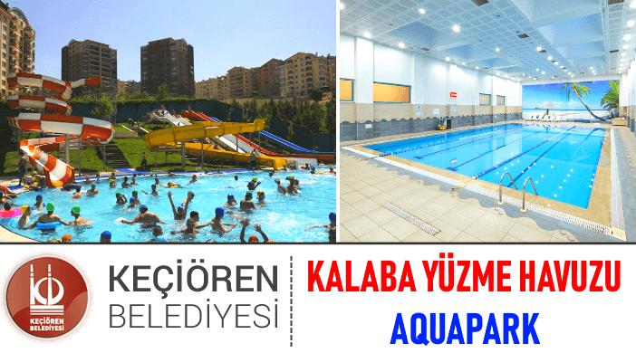 Keçiören Belediyesi Kalaba Aquapark Yüzme Havuzu