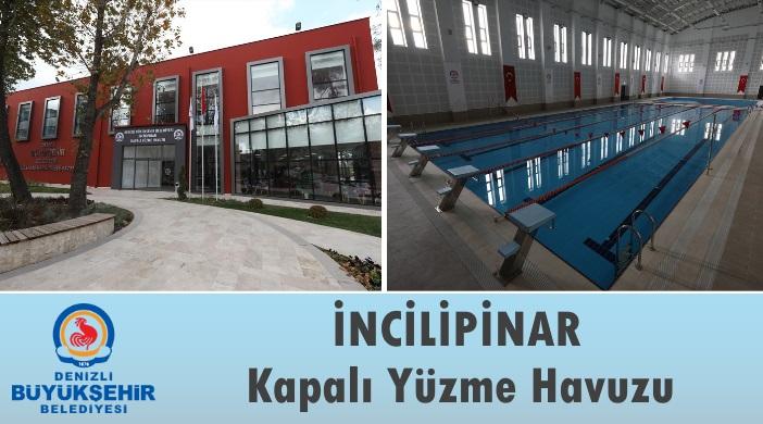 Denizli Büyükşehir Belediyesi İncilipınar Kapalı Yüzme Havuzu ve Spor Kompleksi