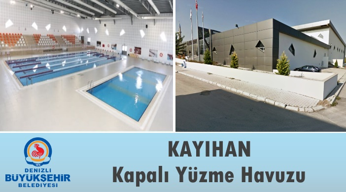 Denizli Büyükşehir Belediyesi Kayıhan Kapalı Yüzme Havuzu