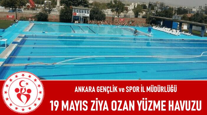Ankara 19 Mayıs Ziya Ozan Yüzme Havuzu