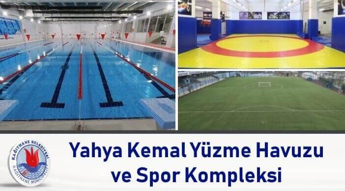 Kağıthane Belediyesi Yahya Kemal Spor Kompleksi Yüzme Havuzu