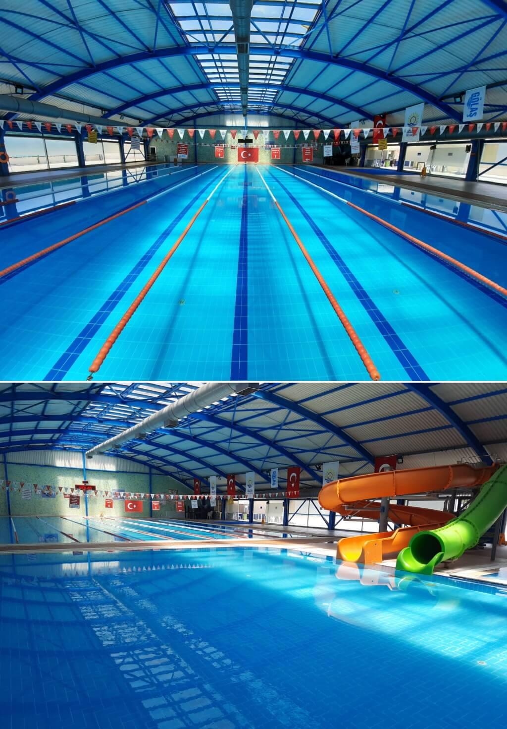 Kocaeli Gölcük Belediyesi Aquapark ve Kapalı Yüzme Havuzu