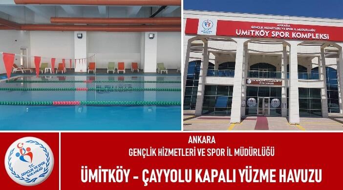 Ankara Ümitköy Çayyolu Spor Salonu Kapalı Yüzme Kursu