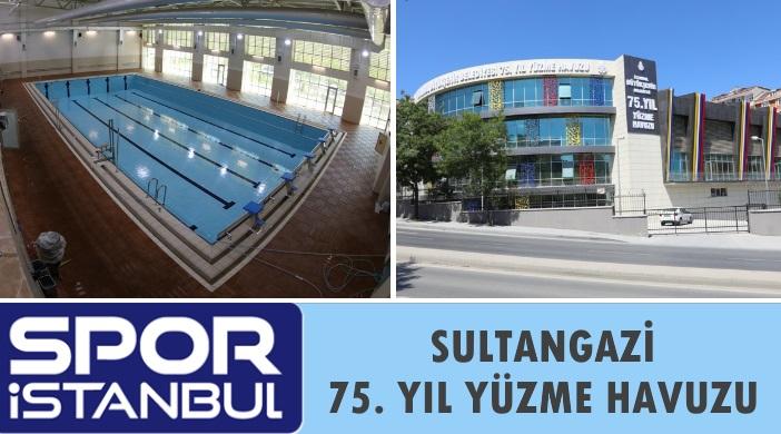 İBB Spor İstanbul Sultangazi 75 Yıl Kapalı Yüzme Havuzu