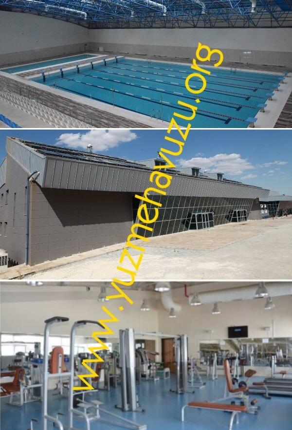 Adıyaman Üniversitesi Yarı Olimpik Kapalı Yüzme Havuzu