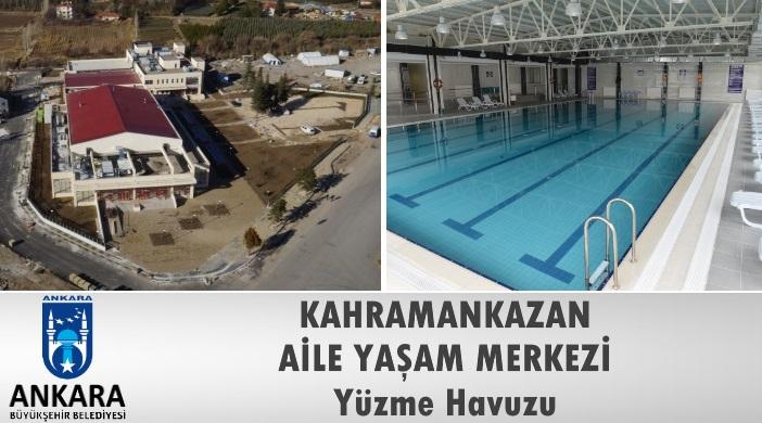 Ankara Büyükşehir Belediyesi Kahramankazan Aile Yaşam Merkezi Yüzme Havuzu