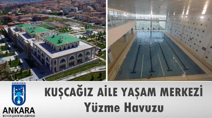 Ankara Büyükşehir Belediyesi Kuşcağız Aile Yaşam Merkezi Yüzme Havuzu
