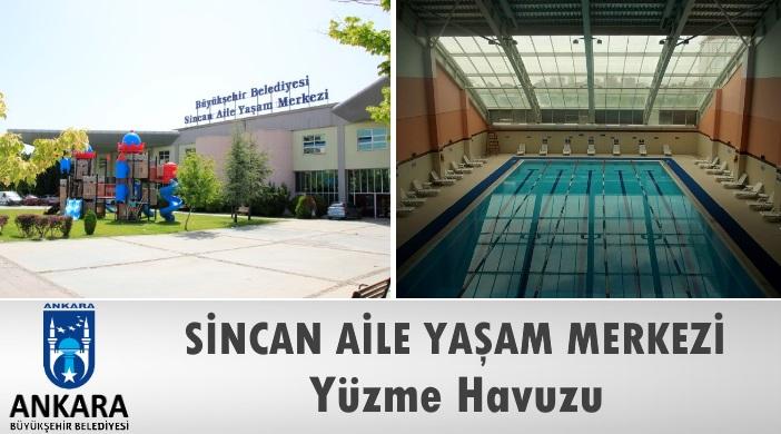 Ankara Büyükşehir Belediyesi Sincan Aile Yaşam Merkezi Yüzme Havuzu