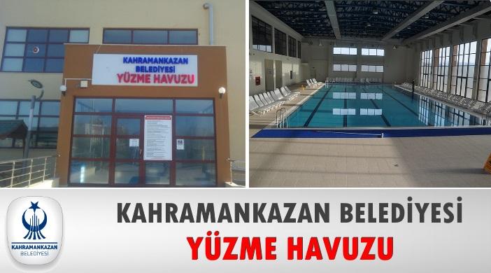 Ankara Kahramankazan Belediyesi Yüzme Havuzu
